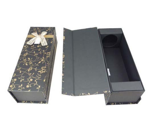 Quality eco friendly High End Champagne wine gift box wholesale made in china for sale