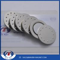 China Round Magnetic Badge Holders on sale