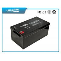 China AGM Deep Cycle Battery for Solar / Wind Power System 12V 200Ah on sale