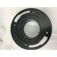 China Plastic Toilet Seal Flange , Toilet Drain Flange Circular Shaped For Drain Waste Vent wholesale