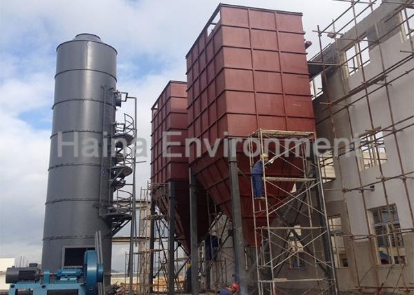 Quality Pulse Bag Filter Dust Collector , Industrial Replacement Bag Dust Collector for sale