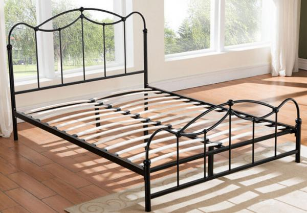 Quality Personalised Style Wrought Iron Kids Beds With Metal Frame Childrens Bedroom Furniture for sale