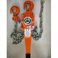 China Construction Hand Wrenching Chain Tackle Block , Hand Chain 3 Ton Hoist Crane wholesale