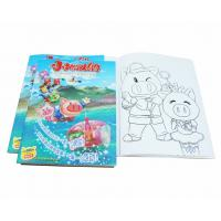 China A4 Size Coloring Books For Kids Clothing Business Developement , Toddler Coloring Book wholesale