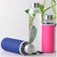 China Hot-selling High quality Neoprene Water bottle bag Bottle holder Cup sleve with handle wholesale