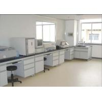 China Safety Chemistry Lab Furniture 16 Mm MDF With Melamine Board With PVC Handle wholesale
