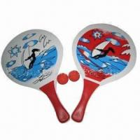 China Table Tennis Set, Made of Wood, Measures 38 x 24 x 0.8cm, Customized Sizes are Accepted wholesale