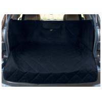 China Extended Width Quilted Dog Car Seat Covers Black Color For Any Animal on sale
