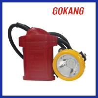 China KLW5LM (A) Methane Alarm LED Miner's Cap Lamp on sale