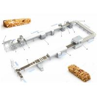 China CE ISO9001 Pastry Making Equipment , Protein Candy Chocolate Nougat Bar Making Machine wholesale