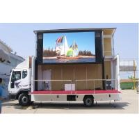 China Trucks Advertising LED Mobile Billboard P16 Pixels Constant Current Drive Type wholesale