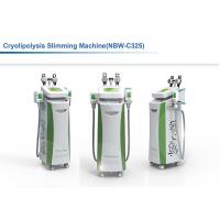 China Five Handles Fat Freezing Machine With Super Cooling For Cellulite Removal Belly Fat Removal on sale
