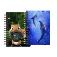 Buy cheap Custom Animal Design 3D Lenticular Notebook For Kids Cute Souvenir Gift Stationery from wholesalers