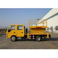 China High Speed 22M Telescopic Aerial Work Platform Truck 4x2 Drive on sale