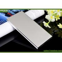 China Dual USB Mobile Power Bank Portable External Battery 6000mAh With Charging Cable wholesale