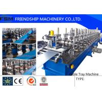 China 22KW Cable Tray Roll Former Machine High Speed 5 m/min - 10 m/min wholesale