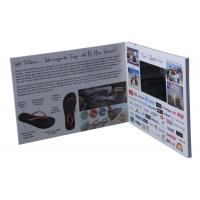 "China 2.4''/2.8''/4.3'/5""/7'/10'' TFT LCD Video Brochure with multi-pages wholesale"