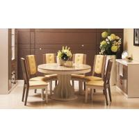 Beautiful Contemporary Dining Room Furniture White With Ice Cream Color