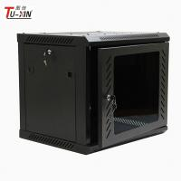 China Network Enclosure Wall Mount Server Cabinet , Cold Rolled Steel 9u Server Rack wholesale