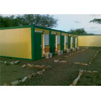 China Heatproof Prefabricated Accommodation Building With Electricity System wholesale