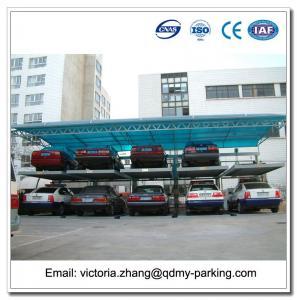 China Back Cantilever Puzzle Parking System Double Deck 2 Level Parking Lifts wholesale