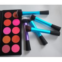 China Beauty Professional Cosmetic Brush Sets 5 PCS with plastic handle wholesale