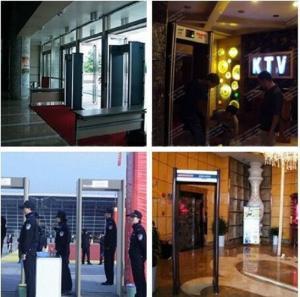 China Goverment Door Frame Metal Detector Walkthrough , Deep Search Door Security Devices wholesale