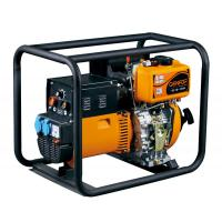 China Easy To Operate Genset Welder Generator , Diesel Powered Welder Compact Structure wholesale