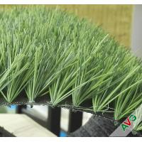 China FIFA Standard Diamond Shape Football Artificial Turf with 160 Stitchs / 60mm Pile Height wholesale
