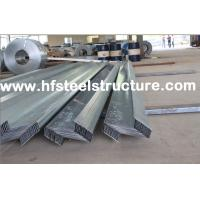 China Wall Panels / Roll Formed Structural Steel Buildings Kits For Metal Building wholesale