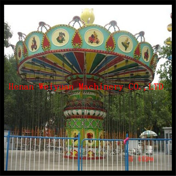 Quality CE certification China outdoor amusement park rides Luxury Swing Flying Chair Rides for sale