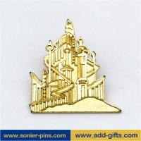 ADDGIFTS cute enamel lapel pins custom badge with backwords cheap price
