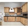 China Solid Wood Complete Kitchen Cabinet Set Aluminium Profile Handle 18mm MFC Borad wholesale