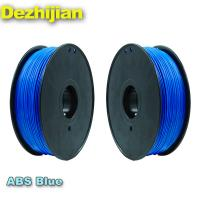 Buy cheap Material Fluorescent Dark Yellow PLA 3d Printer Filament 1.75mm / 3.0mm from wholesalers