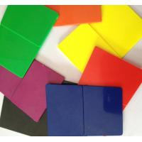 China hot sale ABS colored plastic sheets wholesale