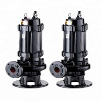 China Centrifugal 3 Phase Submersible Sewage Pump Residential Areas Applied wholesale