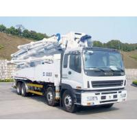 China Special Purpose Truck , Truck Mounted Concrete Boom Pump Multi - protection wholesale