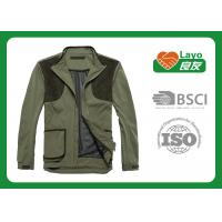 China Olive Color Hunting Fleece Clothing For Hunting Hiking Camping wholesale