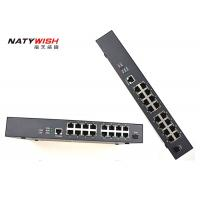China Durable 16FE EPON MDU FTTH ONU 440mm×180mm×44mm For Smart Hotel / Commnunicaty wholesale