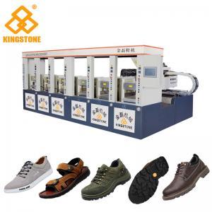 China Two Layer Shoe Sole Mould Making Machine, Safety Shoe Making MachineLow Labour on sale