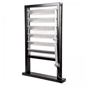China Dexone dynamic aluminum sun louver with motors wholesale