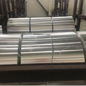 China ROHS Aluminum Coil / Automobile Radiator Coil Aluminum Stock Silver Color wholesale