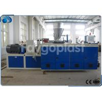 China Industrial Plastic Extrusion Equipment For PVC Plastic Pipe / Profile Making on sale