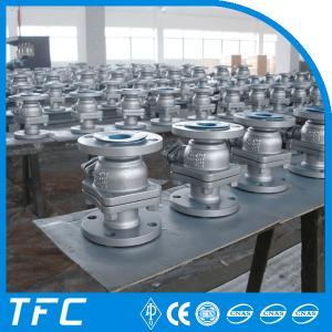 China double flange 2pc cast steel ball valve wholesale