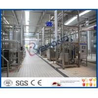 Buy cheap Complete 2000LPH Smart Integrated Dairy Processing Plant 500ml Bottle Filling from wholesalers
