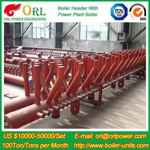 Buy cheap Indústria química do óleo químico do poder do aquecimento da caldeira da planta CFB 240 GV do encabeçamento da caldeira do MW from wholesalers