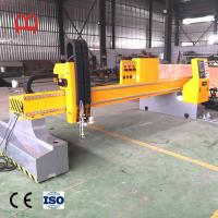 China Precise Steel Pipe Cutting Machine , CNC Laser Tube Cutting Machine Non Deforming Guide Rail on sale