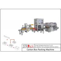 China Automatic Industrial Carton Box Packing Machine Large Capacity For Bottle / Can on sale