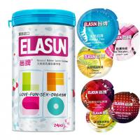 China Elasun 24 Pcs Condoms 5 Types Ultra thin Ice and Fire Condom For Man,Adult Sex Products,Latex Condoms on sale