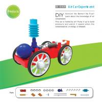 China Classic School DIY Educational Toys Electronic Components , Non Toxic Air Car Toy wholesale
